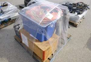 Pallet OF Assorted Items 5X Stands, Cabinet, 3X Triagl