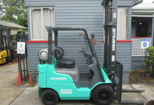 Mitsubishi 1.5 ton LPG, low hrs Used Forklift