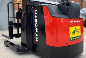 HYWORTH 1.6T Walkie Reach Forklift HIRE from $160pw + GST