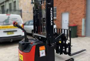 HYWORTH 1.6T Walkie Reach Stacker Forklift HIRE from $160pw + GST