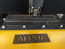 1kw Alpha Fiber laser cutter 1530FC (1.5x3m cutting table) 2 years warranty - picture4' - Click to enlarge