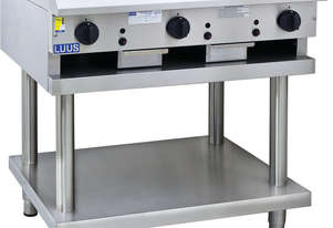 900mm Teppanyaki Grill with legs & shelf