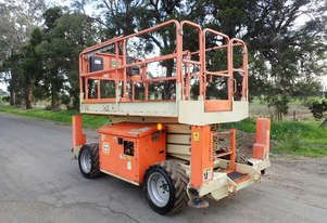 JLG 260MT Scissor Lift Access & Height Safety