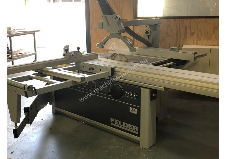 Felder KF700S Professional Panel Saw and tilting spindle moulder combo with  extras