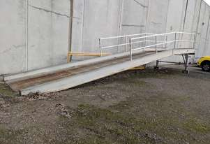 Mobile Loading Container Ramp