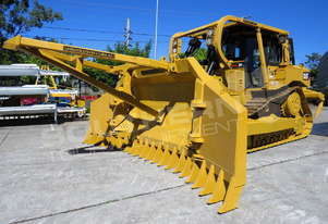 Caterpillar D6T XL Bulldozer with Stick Rake DOZCATRT