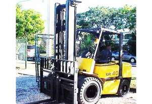 4T YALE (4m Lift) 6 Cyl Diesel GDP40LH Forklift