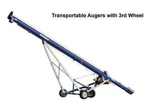 GRAINLINE TRANSPORTABLE AUGER WITH 3RD WHEEL