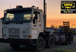Volvo FL7 8x4 Twin Steer Cab Chassis.  TS487