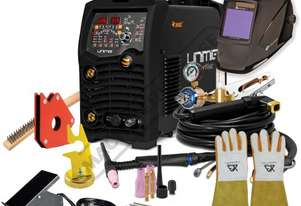 AC/DC RAZOR 320 TIG Welder Inverter TIG/ARC Welder Package Deal 10-320A, #KUMJRRW320ACDC Includes Fo
