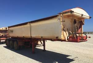 2014 ACTION TRAILERS AYQSY-TRI435 SIDE TIPPER TRAILER