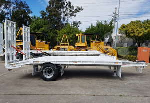Interstate trailers 9 Ton Single Axle Tag Trailer WHITE ATTTAG