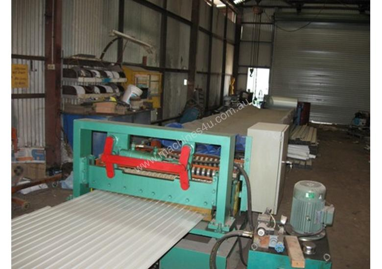 Small Ribs Rollforming Machine