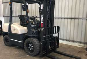 CT POWER FD30 3 TON 3000 KG CAPACITY DIESEL CONTAINER MAST FORKLIFT
