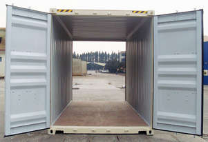 New 20 Foot High Cube Double Door Shipping Container in Stock Brisbane