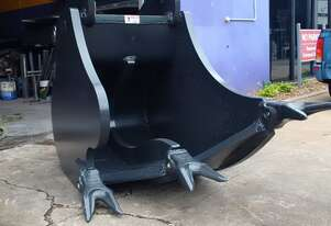 USED 38t - 50t Hi-CAP Multi-Ripper Bucket - USA Patented Design to dig Rock 1000mm