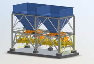 Scope Engineering Services Refurbished Feed Bin System