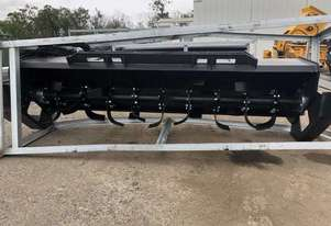 Rotary Cultivator Skid Steer Attachment