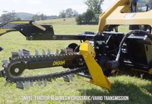 Digga Mini Loader Bigfoot Trencher 900mm with 100mm Combo Chain