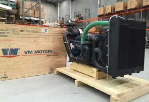 VM Motori Water-Cooled D756 IPE2 137HP DIESEL TURBO- INTERCOOLED POWER PACK -TURN KEY