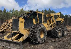 Used 2016 Tigercat 635D Skidder