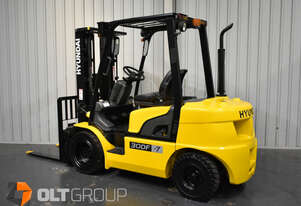Hyundai 3 Tonne Diesel Forklift 4th Spare Hydraulic Function Container Mast Low Hours