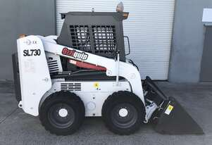 Ozziquip Skid Steer Loader New with Bobcat Hitch 4 in 1 bucket