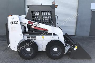 Ozziquip Skid Steer Loader   with Bobcat Hitch 4 in 1 bucket
