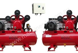 BOSS 70CFM/ 15HP DUPLEX AIR COMPRESSOR