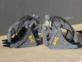 HYDRAULIC GRAPPLE FOR 3-4T EXCAVATOR - picture0' - Click to enlarge