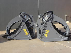 HYDRAULIC GRAPPLE FOR 3-4T EXCAVATOR - picture12' - Click to enlarge