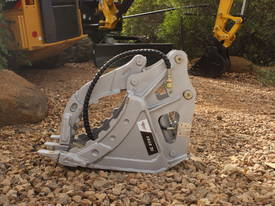 HYDRAULIC GRAPPLE FOR 3-4T EXCAVATOR - picture1' - Click to enlarge