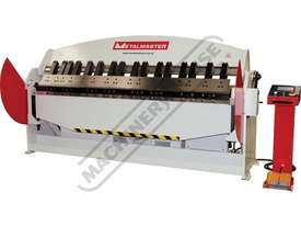 PB-830T Hydraulic NC Panbrake - Ezy Touch Screen Control 2500 x 4mm Mild Steel Bending Capacity - picture0' - Click to enlarge
