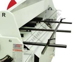 PB-830T Hydraulic NC Panbrake - Ezy Touch Screen Control 2500 x 4mm Mild Steel Bending Capacity - picture13' - Click to enlarge