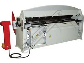 PB-830T Hydraulic NC Panbrake - Ezy Touch Screen Control 2500 x 4mm Mild Steel Bending Capacity - picture15' - Click to enlarge
