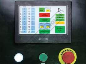 PB-830T Hydraulic NC Panbrake - Ezy Touch Screen Control 2500 x 4mm Mild Steel Bending Capacity - picture2' - Click to enlarge