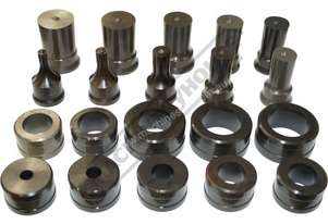 PDS-40 Ø11-40mm Round Punch & Dies Set Hi -Grade Tool Steel Imported From Japan 20 Piece = 10 Sets