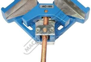 AC-60 90 degree Angle Vice Clamp Jaw Width - 2 x 60mm 60mm Jaw Opening