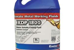 XDP-1800 Soluble Metal Cutting Fluid - 5 Litre  Semi-Synthetic Concentrate