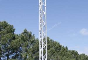 Communications tower, microwave, solar, battery