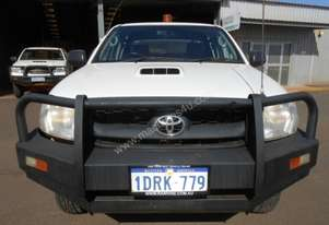 2011 Toyota Hilux 4WD Dual Cab Trayback