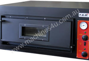 F.E.D. EP-2-1 Black Panther Single Deck Pizza Oven