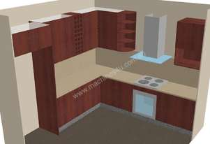 Full 3d Cabinet Design software with CNC