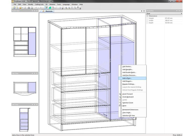 New 2017 polyboard full 3d cabinet design software with for 3d store layout design software