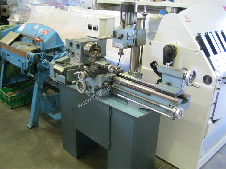 Used Emco Maximat V10 P Combi Lathe Mill Drill In Listed On Machines4u