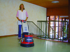 SWISS MADE - CLEANFIX - 240V FLOOR POLISHER - picture1' - Click to enlarge