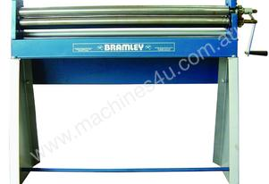 BRAMLEY 2.5X50 - MANUAL SHEET METAL CURVING ROLLS