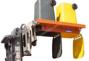Wheelie Bin Lifter & Tipper Telehandler Attachment