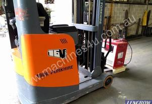 Ep Equipment Reach Truck Rider Sit Down