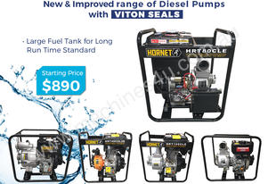 Diesel Water Pump – Yanmar & Fire Fighter 40mm